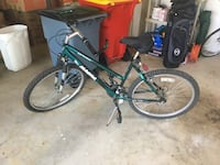 green and black hardtail mountain bike Charles Town, 25414