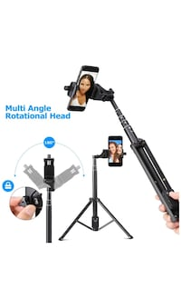 "54""inch selfie stick tripod brand new works for any phone  New York, 11228"