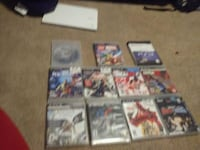 assorted PS3 game case lot Cannon Falls, 55009