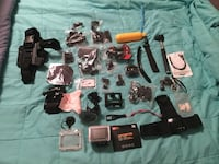 New Action cam with case and tons of accessories Bellevue, 68123