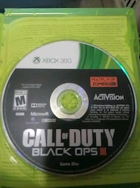Xbox 360 Call of Duty Black Ops 3 game disc Denver, 80221