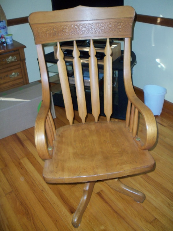 Outstanding Antique Oak Desk Chair Gmtry Best Dining Table And Chair Ideas Images Gmtryco