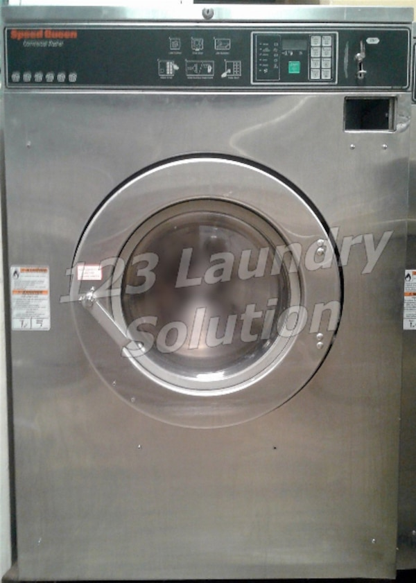 Speed Queen Commercial Front Load Washer 60LB 1/3PH SC60BCFXU60001 Used
