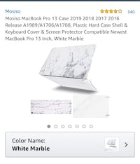 Mac Book pro cover almost new