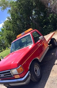 1990 Ford F150 FireTruck Flatbed Sparks