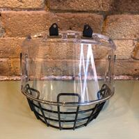 Itech hybrid hockey mask (without chinstraps). Tribeca Manhattan New York, 10007
