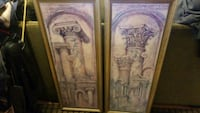 2 beautiful long pictures with columns. Littleton
