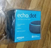 BRAND NEW - Echo Dot 3rd Gen
