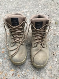 Texas Steer Military Style Boots. Size 10.5