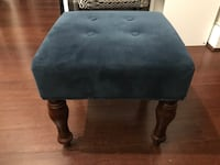 Blue velvet ottoman Washington, 20007