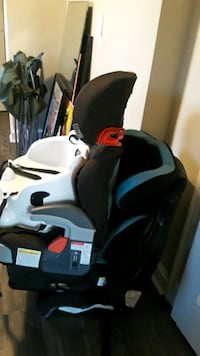 3 carseats and 2 booster seats