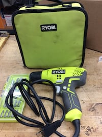 Ryobi corded drill D43  with carry case 851650-1