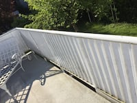 Aluminum and rod iron railings Vancouver, V5X