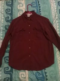 maroon button-up long-sleeved shirt Tucson, 85706