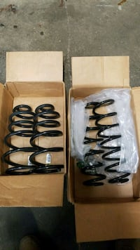 two black coil springs with box Copiague, 11726