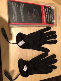 Heated motorcycle glove liners - size small - never used Toronto, M4J