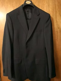 H&M slim fit pinstripe suit 36R super 120s Toronto