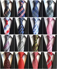 New Classic 100% Silk Men's Ties