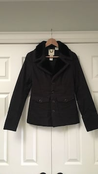 Women's Black Diesel Coat Hamilton, L9G