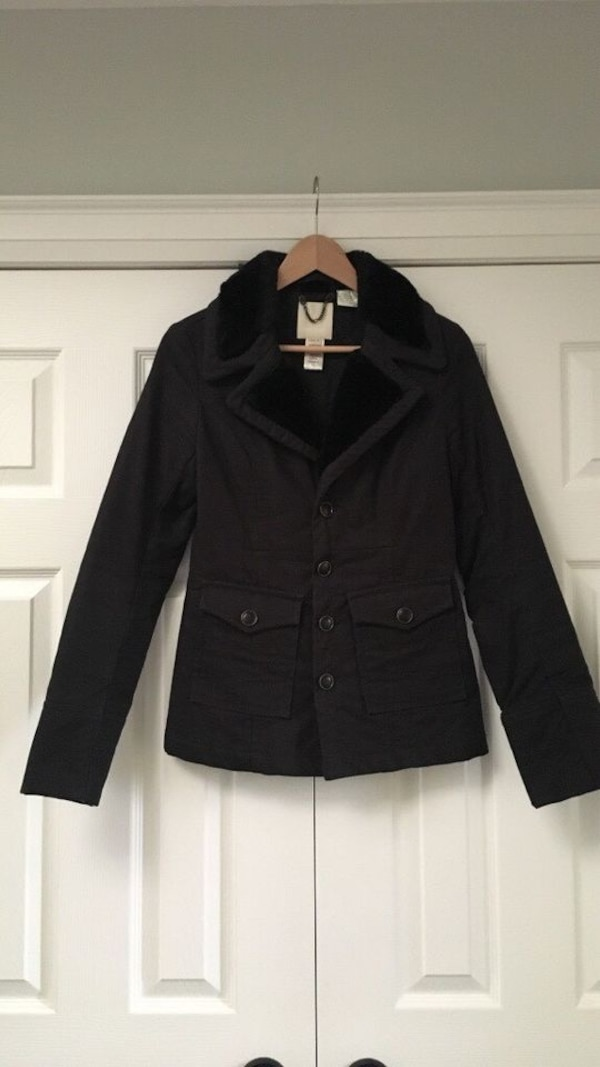 Women's Black Diesel Coat 0