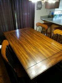rectangular brown wooden dining table Downers Grove, 60516
