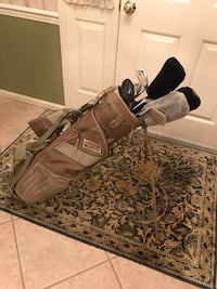 Women's cobra golf club set and bag