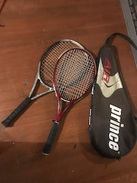 2 awesome tennis rackets and carry case Minneapolis, 55406