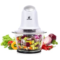 Food Chopper 4 Cup Glass Bowl , One Touch Multipurpose Electric Food  New York, 11355