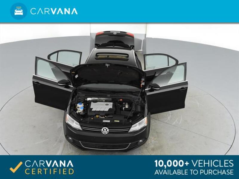 2014 VW Volkswagen Jetta sedan 2.0L TDI Sedan 4D Black <br /> 12