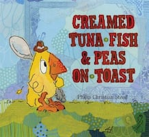 Pls read ad * NEW-GIFTABLE * RETAILS $18.99 + tax HARD COVER * Creamed Tuna Fish & Peas on Toast