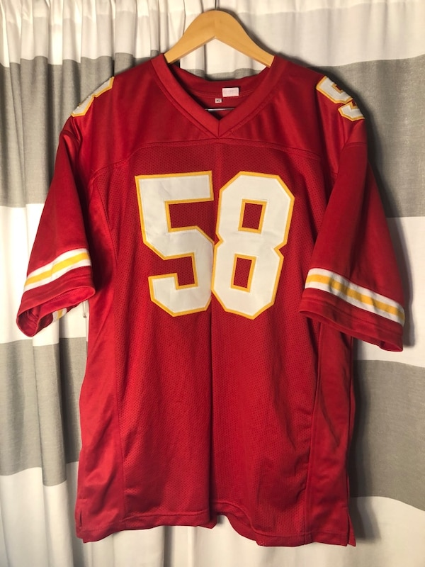 new concept 89e32 9801a Derrick Thomas Kansas's city chiefs jersey