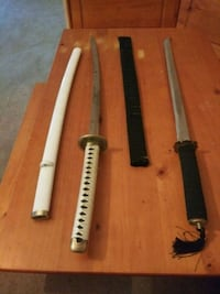 2 swords $40 for both Indianapolis, 46219
