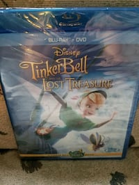 Tinker bell and the lost treasure blue ray+ DVD