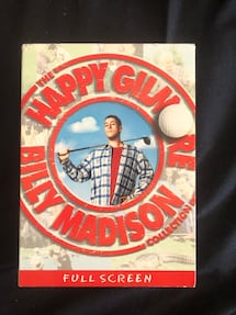 2 movies Billy Madison Happy Gilmore