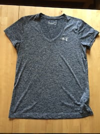 Grey Under Armor V-Neck Tee  Portland, 97212