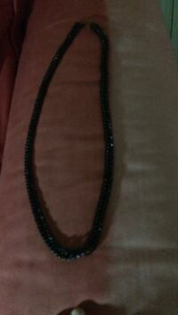 black beaded necklace Great Falls, 59404