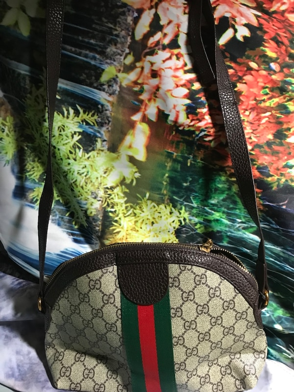 07902a89ae75 Used black and green Gucci monogram tote bag for sale in San Jose - letgo