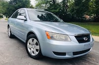 2007 sky blue Hyundai Sonata :: Drives Excellent  Chevy Chase