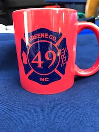 Jason NC Fire Dept fund raising coffee mugs