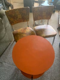 Vintage Bistro Table & Chairs