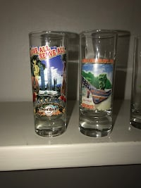 Hard Rock Cafe shot glasses from around the world Anchorage, 99504