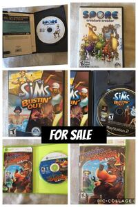 The Sims Bustin' Out game case photo collage Magalia, 95954