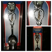 Antique Chicago Golden Mini-Spoon ZOOM OUT Chesterton, 46304