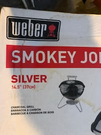 "the Weber Smokey Joe Premium 14"" Charcoal Grill Bristow, 20136"