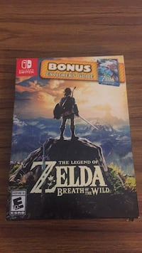The Legend of Zelda: Breath of the Wild Explorer's Edition Altoona, 16602
