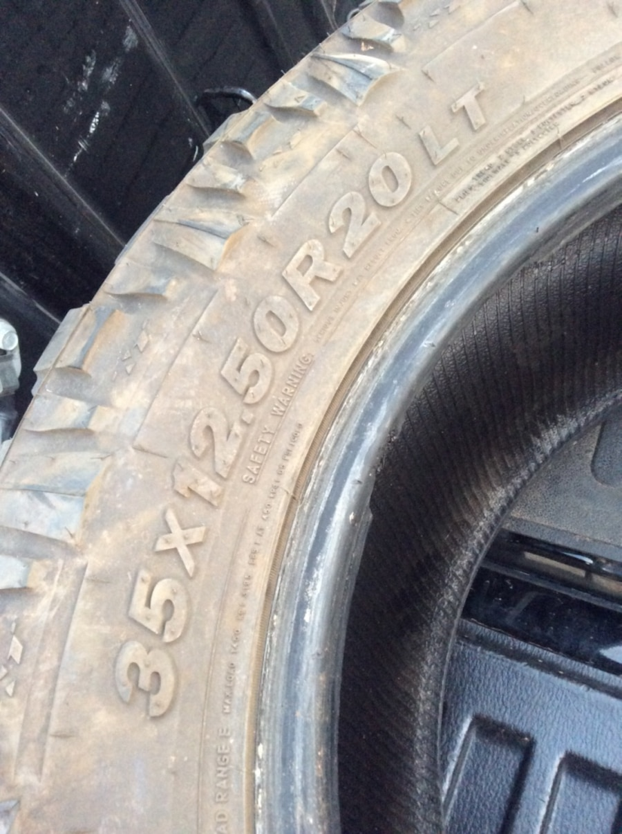 letgo - Mickey Thompson 35X12.50X20 BAJA A... in Lubbock, TX