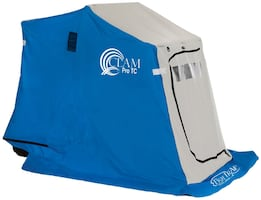CLAM Scout TC-1 DLX Seat Ice Sled/shelter