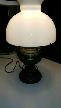 B and H. Vintage Huricane lamp-works Hagerstown, 21742