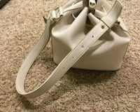 pair of white leather open toe ankle strap heels Millersville, 21108