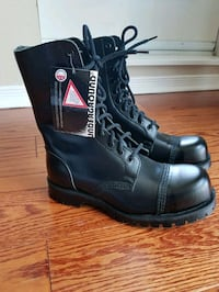 Underground Steel Toe Leather Boots Size UK6 Toronto, M2N 5S4